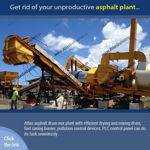 Get rid of your unproductive #AsphaltPlant. See how our portable #AsphaltMixer is the best in the business and is preferred by #contractors worldwide.