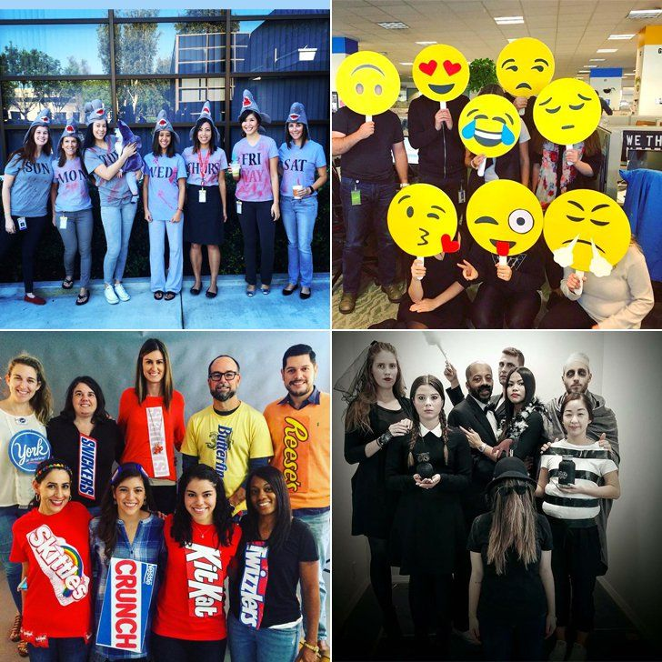 26 group halloween costume ideas that will win over your entire office - Halloween Winning Costumes