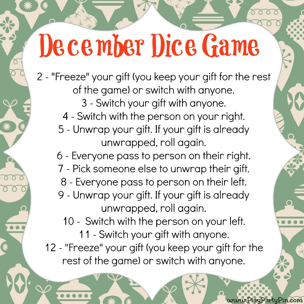 10 Of The Best Gift Exchange Games Christmas Gift Exchange Games Christmas Gift Games Christmas Gift Exchange