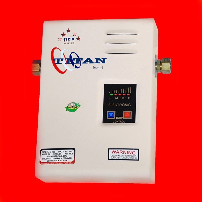 Titan Tankless Scr2 Models In Our Ebay Store Tankless Time N120 N100 N85 N64 Free Ship Titantank Tankless Water Heater Electric Water Heater Water Heater
