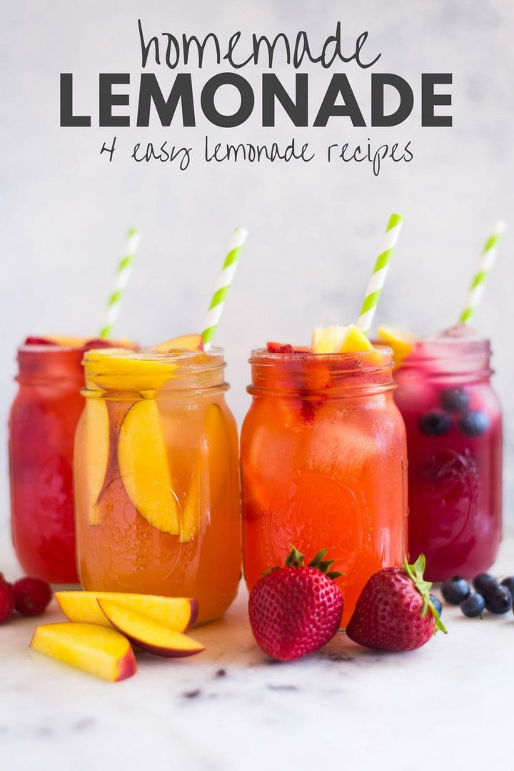 Homemade Lemonade #flavoredlemonade