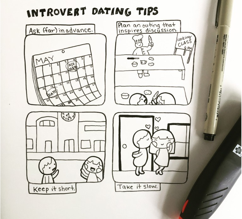 Introvert personality dating tips