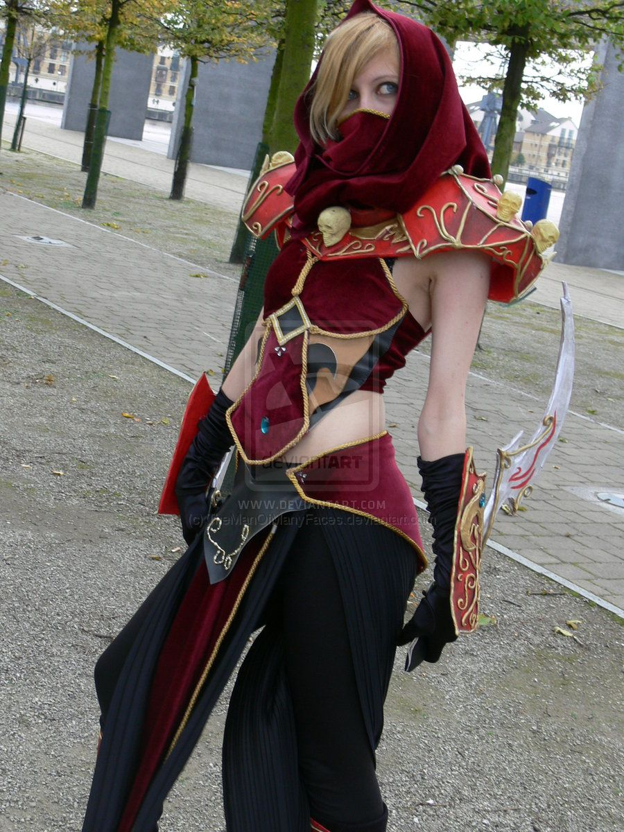 Wow blood elf rouge mcm by themanofmanyfacesiantart i a blood elf rogue from world of warcraft find this pin and more on diy costume solutioingenieria Gallery