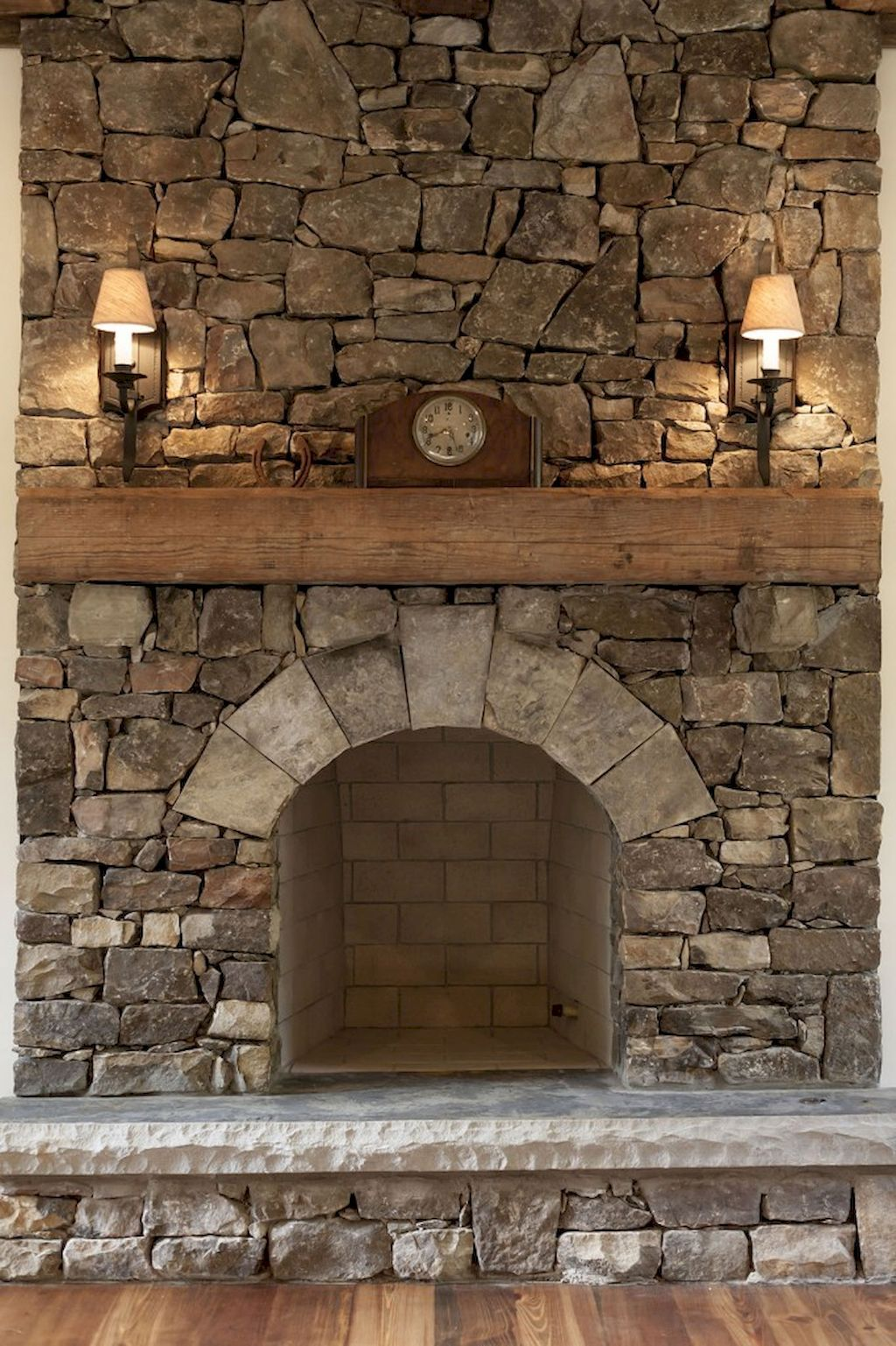 60 rustic summer fireplace makeover ideas rustic - Fireplace hearth stone ideas ...