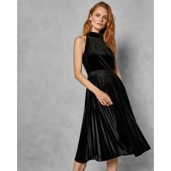 Photo of Plissiertes Midikleid Aus Samt Ted BakerTed Baker