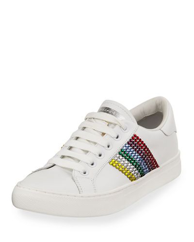 get to buy sale online cheap sale excellent Marc Jacobs Embellished Low-Top Sneakers discount clearance quality free shipping for sale low cost cheap online wGUyS9zNSP