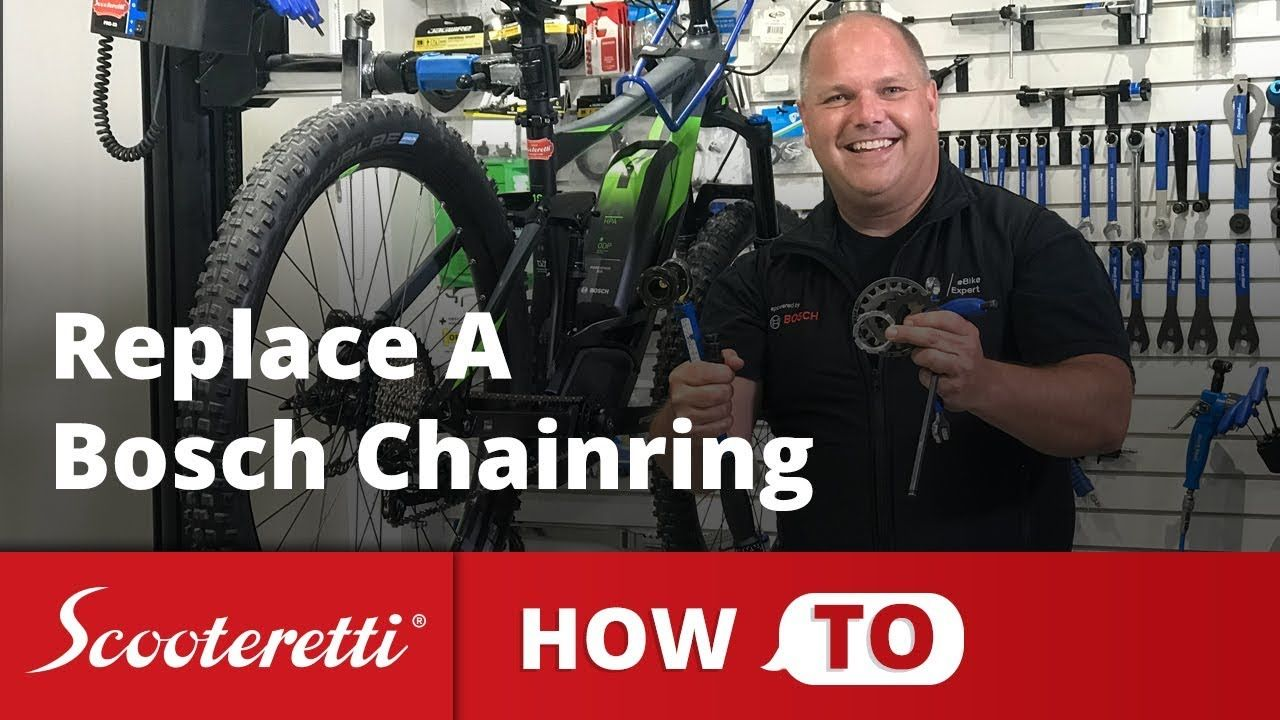 Bosch Chainring How To Properly Change An Ebike Sprocket Ebike