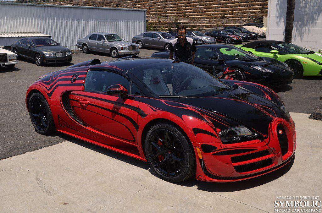 Gallery Bugatti Veyron Grand Sport Vitesse Red And Black 16