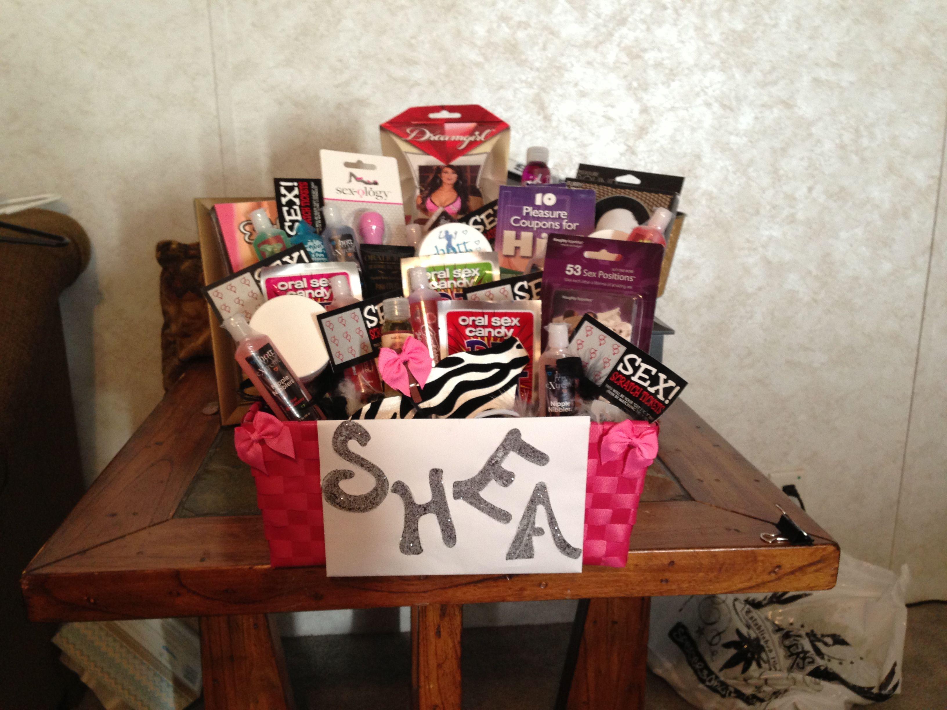 Bachelorette gift basket bachelorette gifts