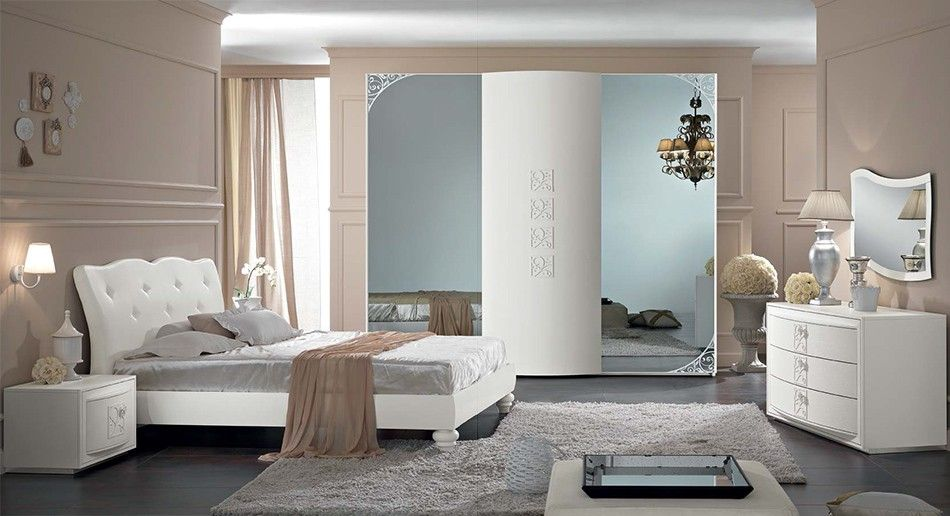 italian bedrooms furniture. Italian Neoclassical Bed / Bedroom Orchidea By Spar Bedrooms Furniture