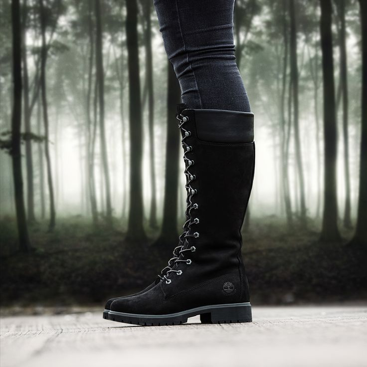 0c68e88e87e3 black timberland long boots for women