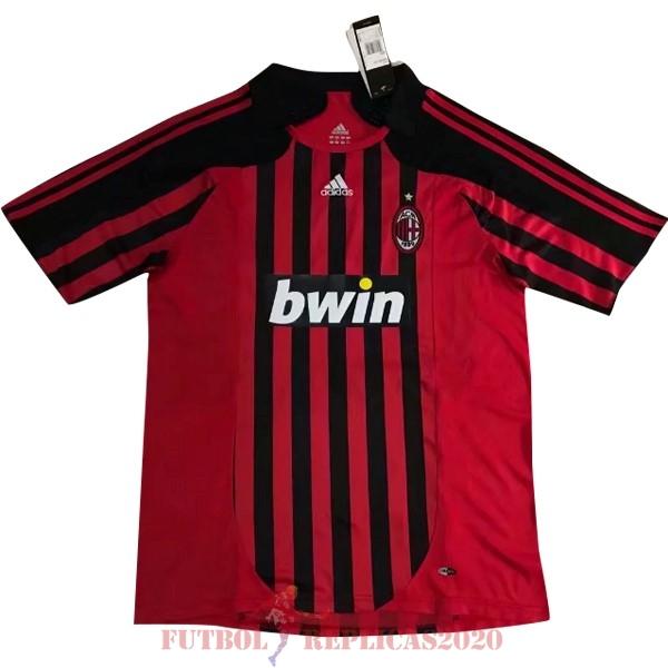Camisetas De Futbol Imitacion 1ª Ac Milan Retro 2007 2008 Rojo In 2020 Fussballtrikots Trikot Fussball