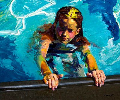 Artists Take The Plunge Part Iii More Pool Paintings Artist
