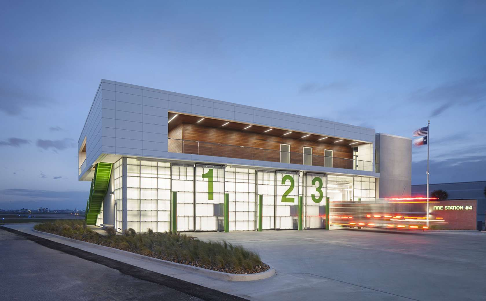 Fire Station Designed By James Henry, AIA, 2015 Young Architects Award  Recipient. HDR, Inc.