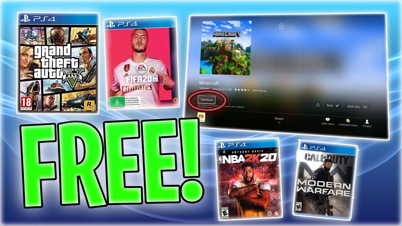 FREE PS4 GAMES GLITCH MAY 2020 ! How To ...