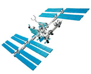 A meta space station why not this is a lego tm version for When was the international space station built