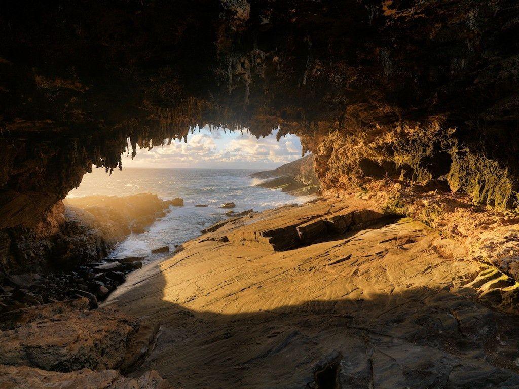 A Sea Cave On Kangaroo Island South Australia