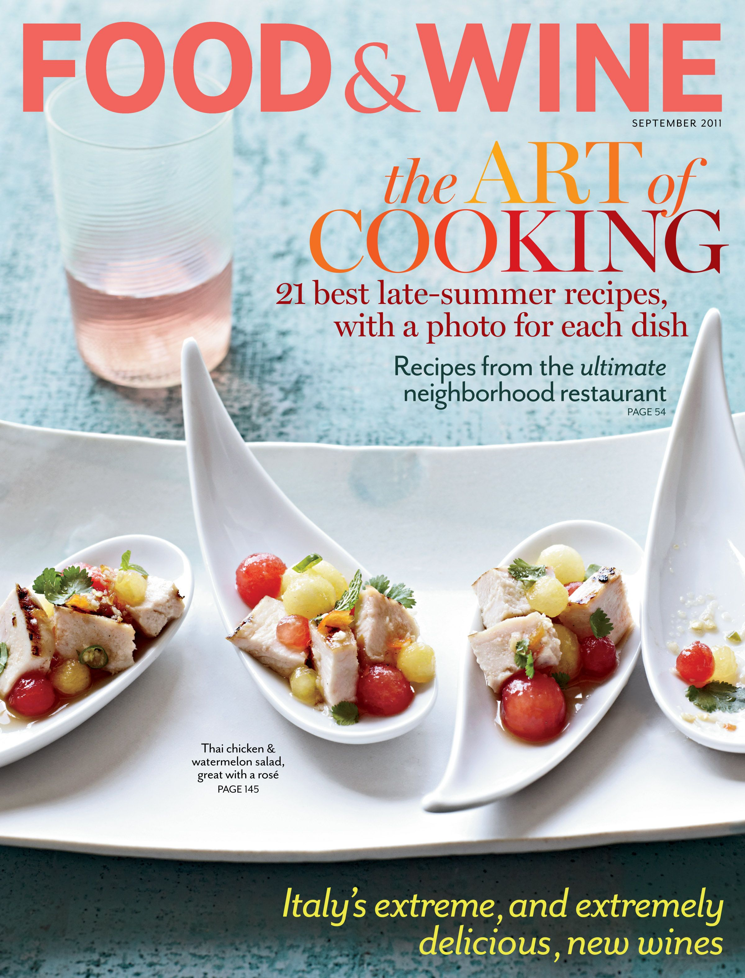 Food wine magazine subscription indulge in decadent recipes food wine magazine subscription indulge in decadent recipes perfect pairings and sweet treats that are sure to tempt your palate forumfinder Gallery