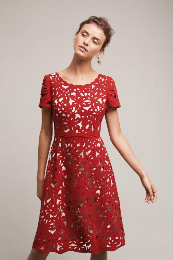b801a724969 NUE by Shani Aliz Laser-Cut Dress - ShopStyle Cocktail