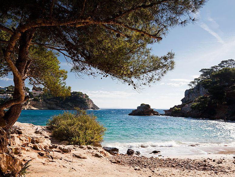 Cove near Portals Vells on Mallorca (Spain)