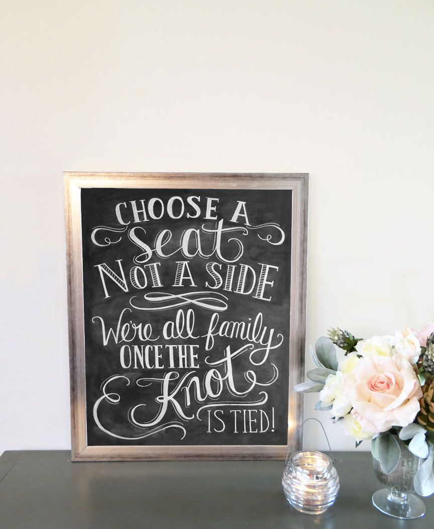 Choose+A+Seat+Not+A+Side+Print++Wedding+Ceremony+by+LilyandVal,+$53.00