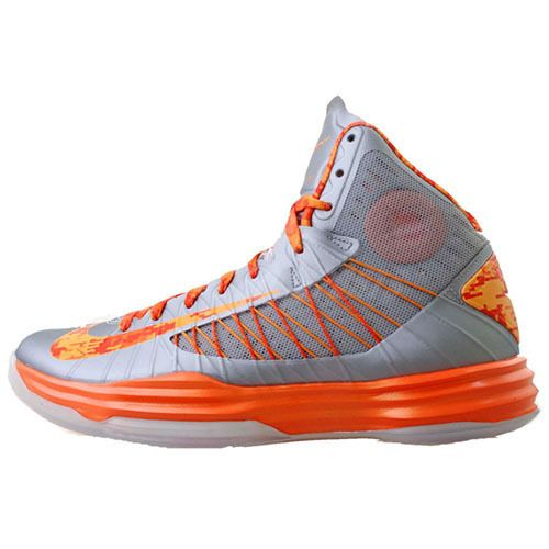 49b2b578d9b8 Nike Hyperdunk fifth 5th edition orange basketball shoes gray orange ...