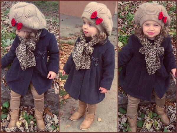 Baby with style