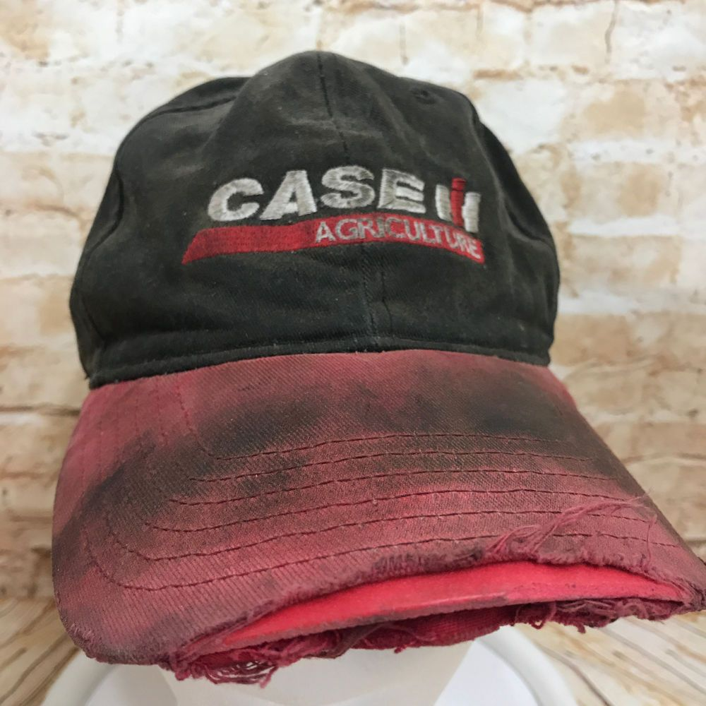 956d747263e Distress Dirty Destroyed Torn Case IH Agriculture Baseball Cap Hat  Adjustable  HeadwearKProducts  BaseballCap  ad