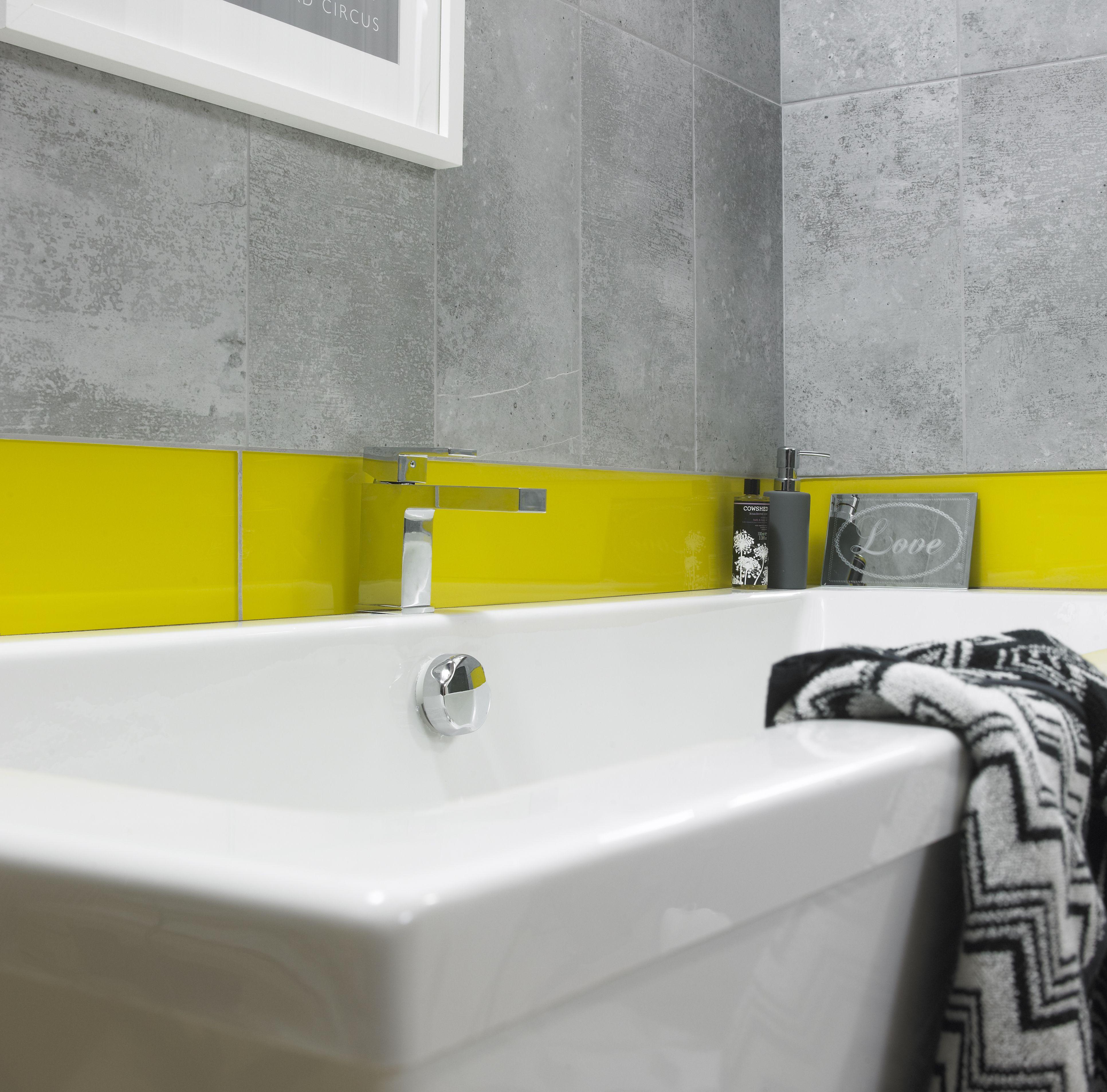 Impact Glass Lemon tiles from House of British Ceramic Tile http ...