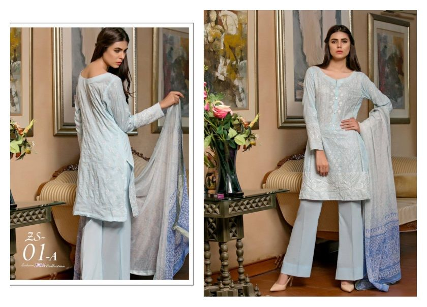 New fashion dress design 2018 in pakistan 10