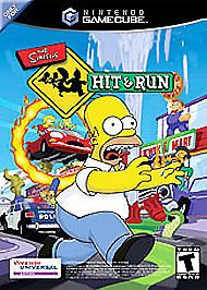 Simpsons Hit Run Nintendo Gamecube 2003 Simpsons Hit And