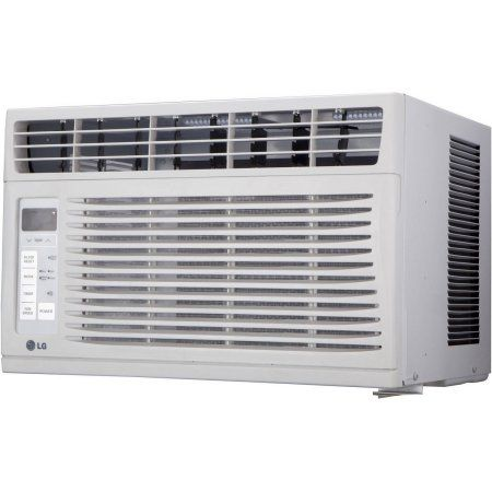 Refurbished Lg Lw1216er 12 000 Btu Window A C Walmart Com Window Air Conditioner Air Conditioner Heater Air Conditioner Btu