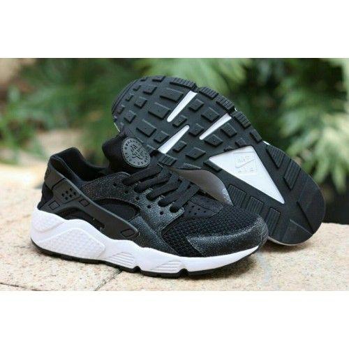 sneakers for cheap 00bd0 bfb5a Nike Air Huarache Homme Chaussures Noir Blanc - €234.00   Chaussures Nike  Air…