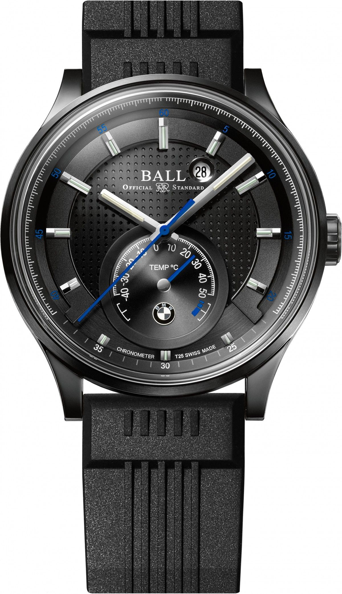 183a4d8a62c Limited Edition Ball for BMW TMT Chronometer Celebrates BMW s 100 ...
