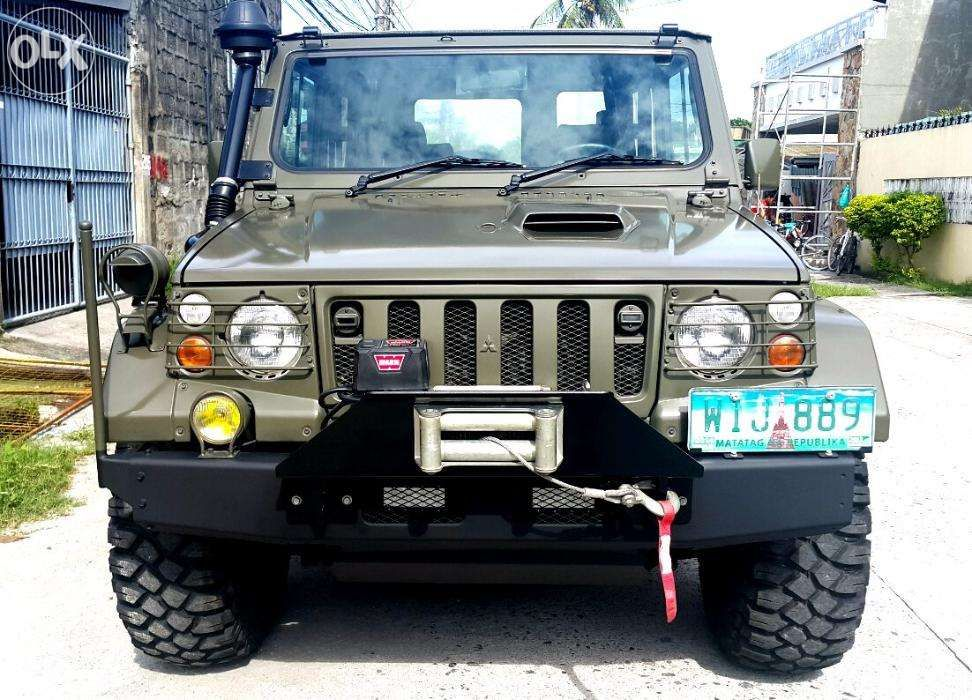 View Fully Restored Mitsubishi Type 73 Shin Military Jeep 2 8l Turbo Diesel For Sale In Angeles City On Olx Philippines Or Find M Military Jeep Jeep Jeep Cars