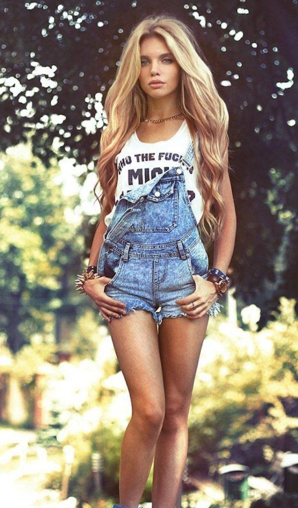 Sexy overalls always hold up (43 Photos) | Overalls, Wild wild west ...