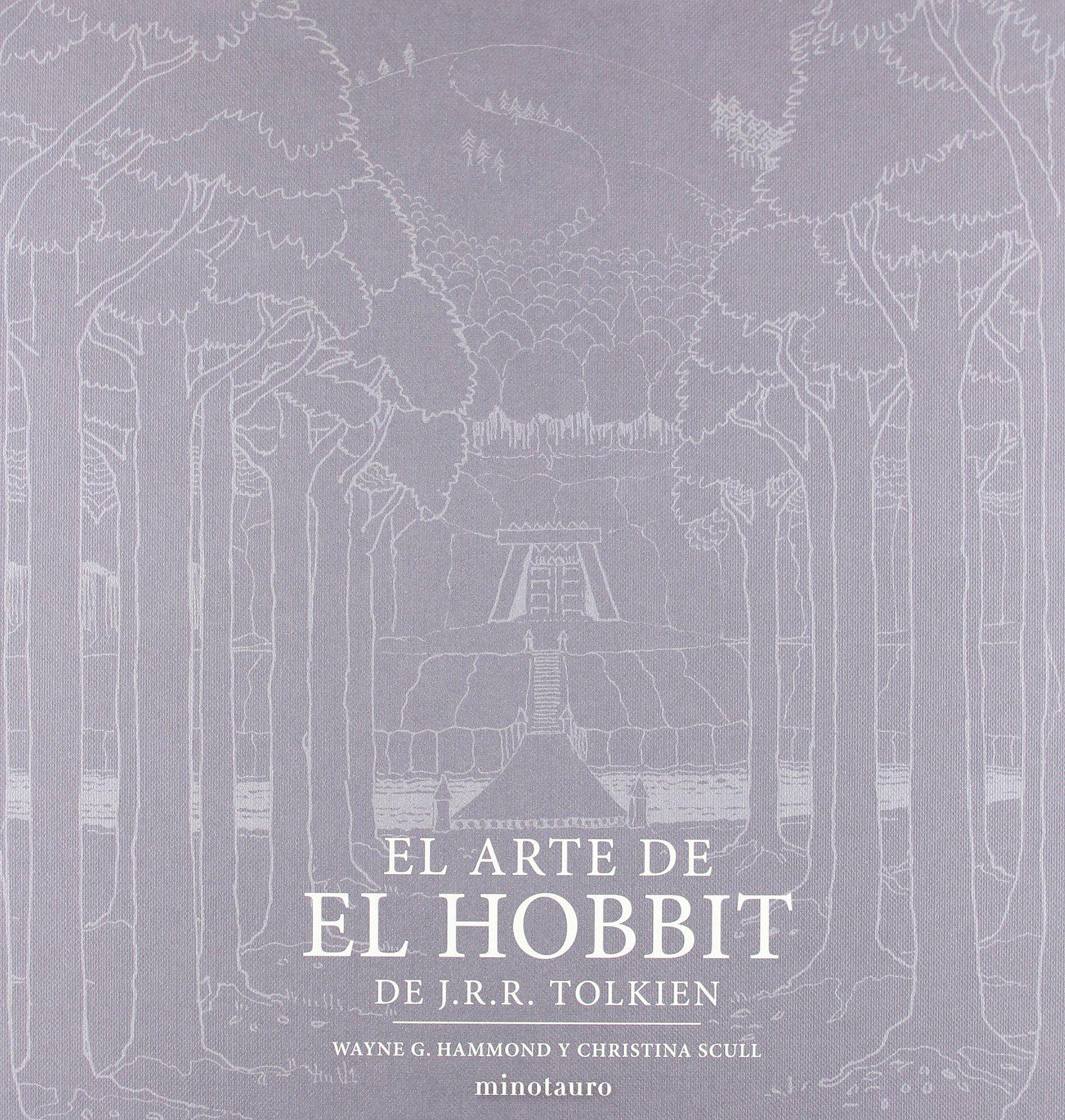 El arte de El Hobbit de J.R.R. Tolkien Biblioteca J. R. R. Tolkien #de,  #arte