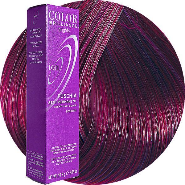 Fuchsia Semi Permanent Hair Color Fashion Hair Color Ion Color