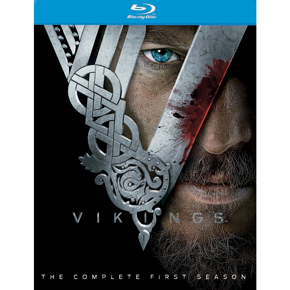 vikings the complete first season 3 discs blu ray. Black Bedroom Furniture Sets. Home Design Ideas