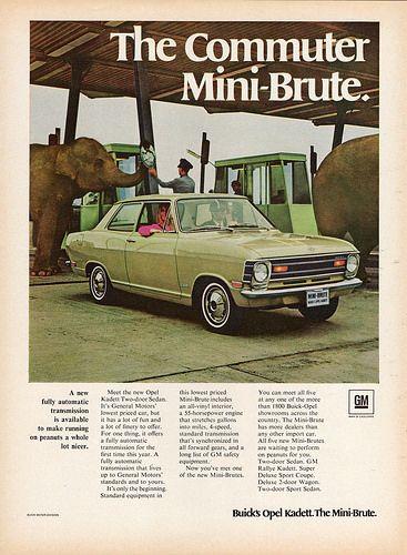 1969 Opel Kadett Two Door Sedan Met Afbeeldingen