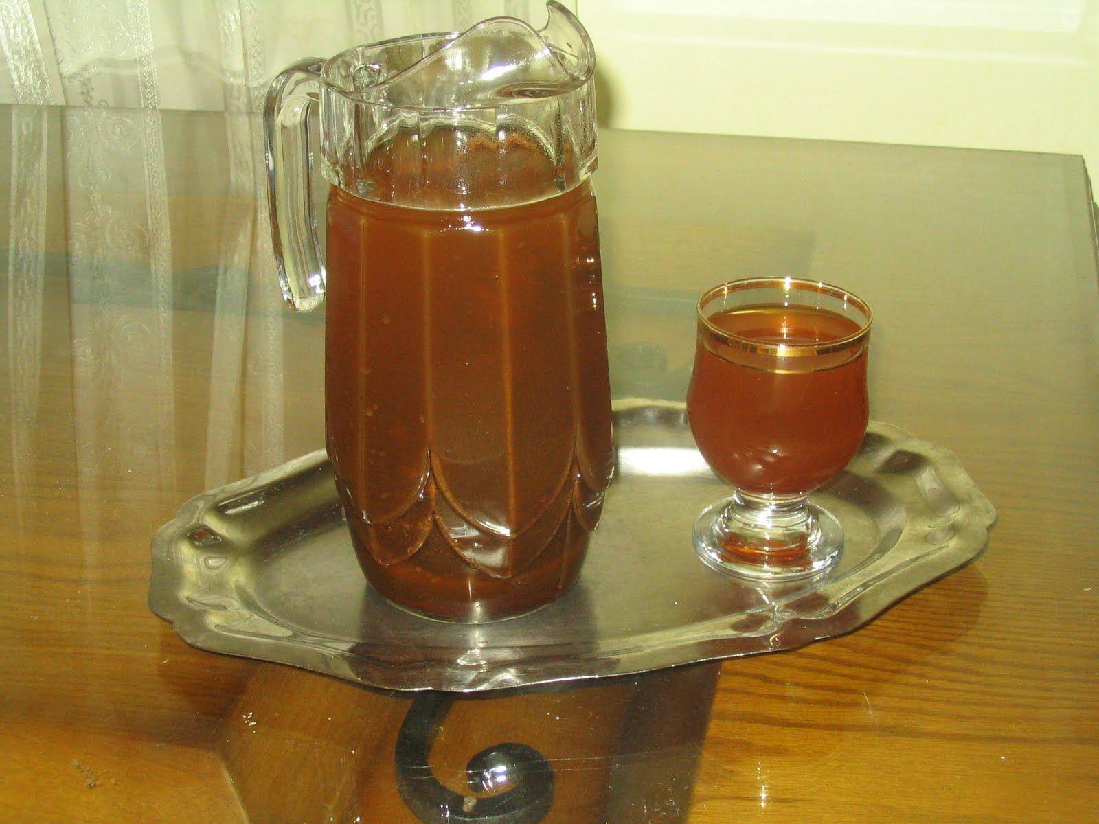 طريقة عمل عصير الخروب الطبيعي بطرق مختلفة موقع طبخة Glassware Hurricane Glass Coffee Maker