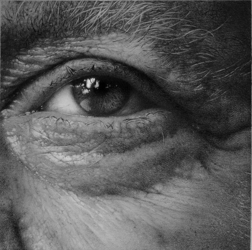 Eye study in pencil by nimra.deviantart.com on @deviantART