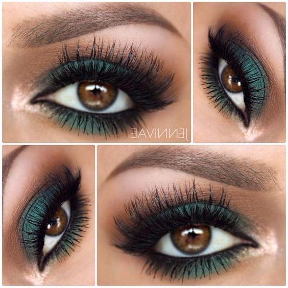 Photo of 52 besten wunderschönen und trendigen braunen Augen Make-up-Design für Prom oder Party Page -…
