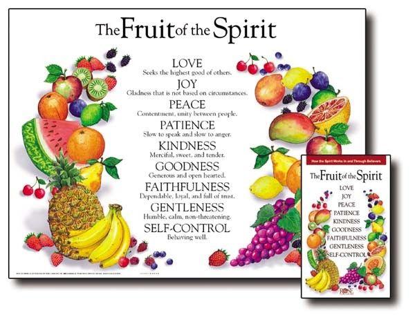 Fruit Of The Spirit Wall Chart Wall Chart Fruit Of The Spirit Spirit Quotes Spirit