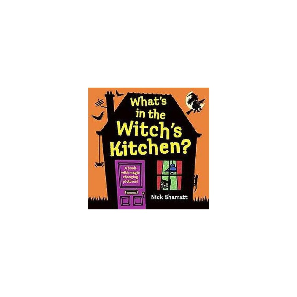 What\'s in the Witch\'s Kitchen? (Hardcover) | October Lesson Planning ...