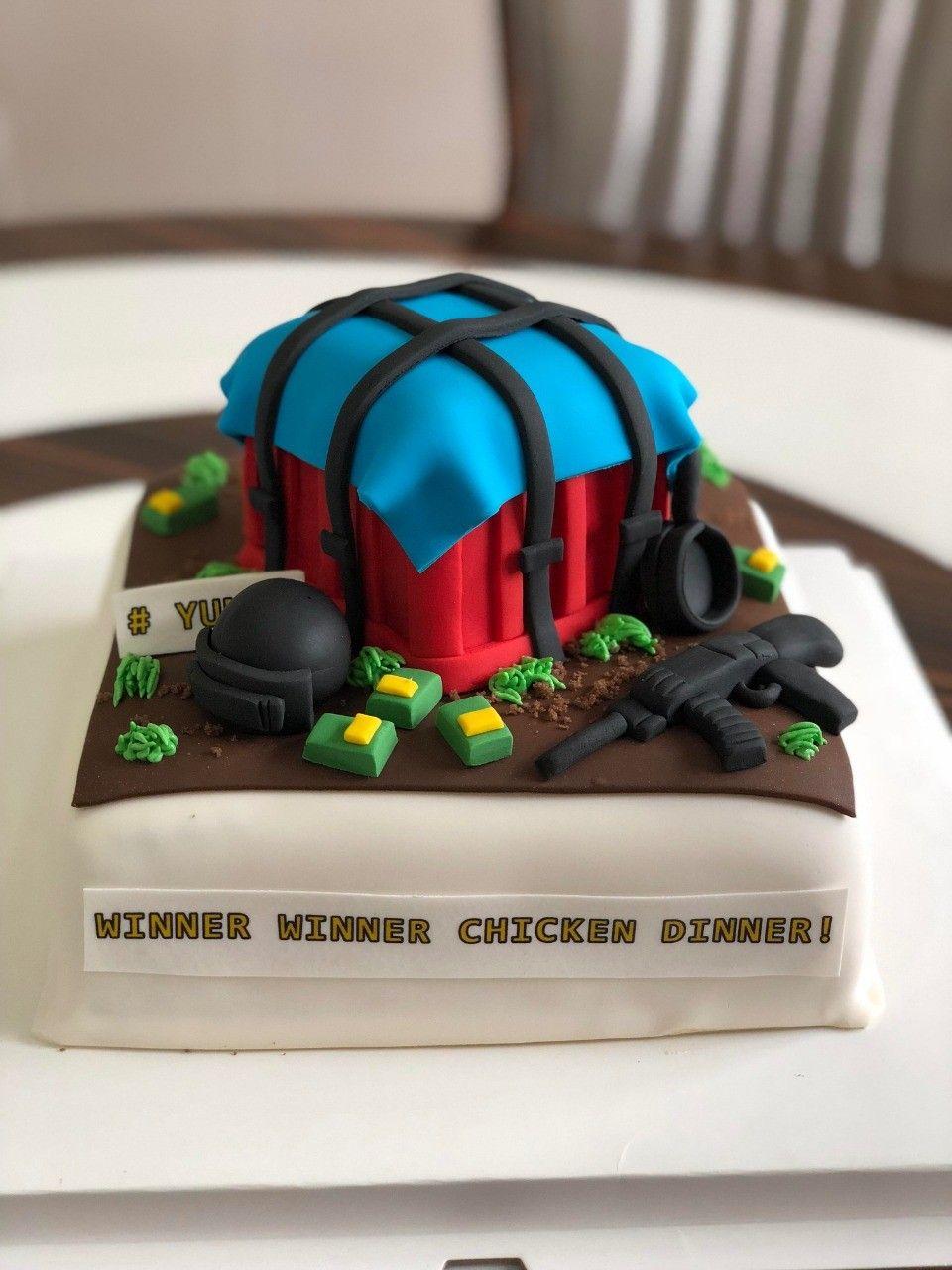 Pubg Cake In 2019 Cake Cake Delivery Birthday Cake For