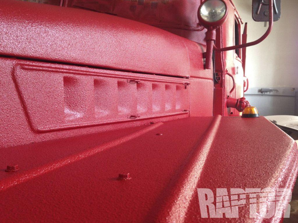 FIRE TRUCK Full Overspray raptorised Fire trucks, Satchel