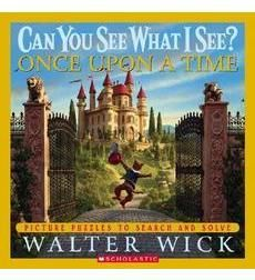 Can You See What I See? Once Upon a Time by Walter Wick. An amazing hide-and-seek book with a fairytale theme, so difficult but you can adapt searches for little ones.... And the good news is that when looking for this to pin, I found a hint page for those pesky objects the entire family have failed to find. So much fun!