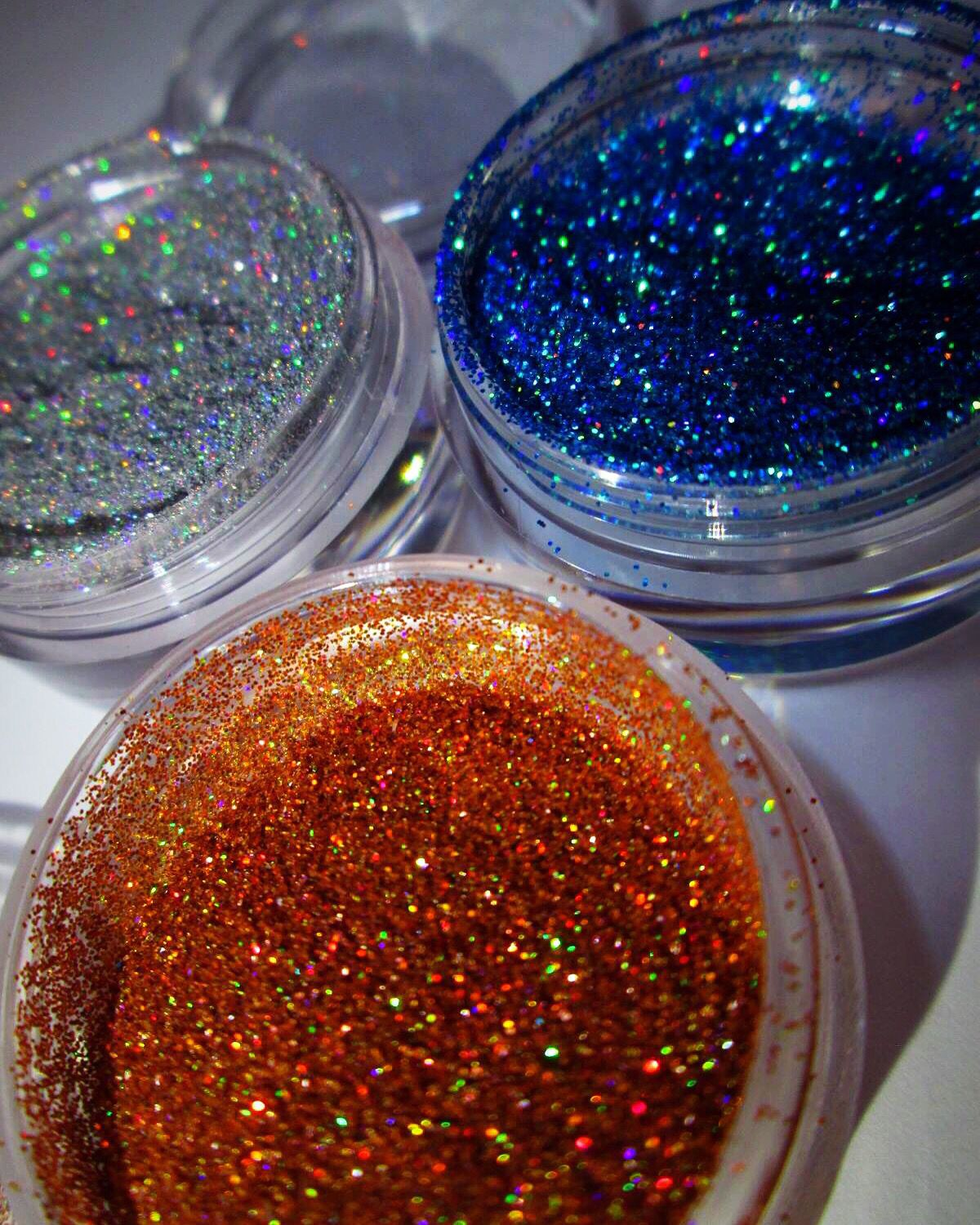 SYN Cosmetics Glitters Epidemic, Delusional, Certifiable