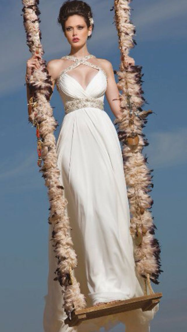 Who Wouldnt Want To Look Like An Egyptian Goddess On Their Wedding